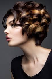 Frisuren F Kurze Haare Locken by Haar Eleganz Kurze Haare Mit Den Locken Kurzhaarfrisuren