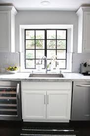 Best  Black White Kitchens Ideas On Pinterest Grey Kitchen - Black and white kitchen backsplash