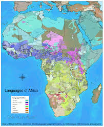 Maps Of Africa by Jaw Droppingly Detailed Linguistic Map Of Africa Africa
