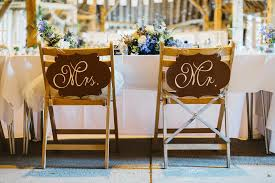 Bride And Groom Chair Signs Blog U2014 Wedding Hand Lettering And Stationery Louie Tilley