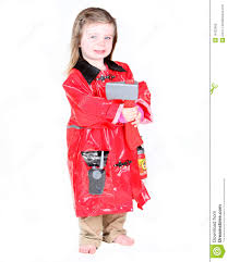 Toddler In Firefighter Costume Stock Photography Image