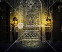 Palace Interior Gothic Palace Interior Background Royalty Free Stock Image