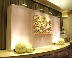 wedding backdrop hk and sweet pink flower wedding design at golden lilies
