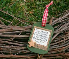 learn how to make this bible verse ornament other ideas lines