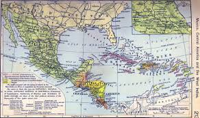 me a map of mexico map of mexico and central america map of mexico and central