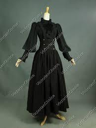 edwardian penny dreadful steampunk dress theatrical clothing