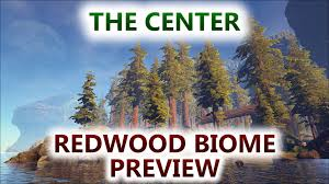 Biome Map Ark The Center Redwood Forest Biome Preview Youtube