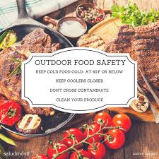 outdoor food safety tips avoid food poisoning this summer
