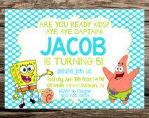 spongebob birthday clipart 72