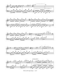 puff the new age dragon by anne britt piano solo