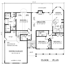 stylist and luxury 3 2000 square foot home plans house floor under