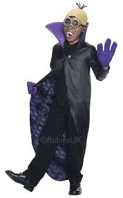 minions dracula vampire boy s s fancy dress halloween cartoon