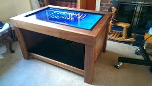 Gaming Coffee Table Gaming Coffee Table S Diy Arcade Machine Coffee Table Fieldofscreams