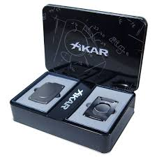 cigar gift set xikar cigar cutter ultra slim gunmetal gift set cubancrafters