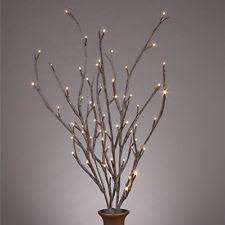 lighted tree branches lighted branches ebay