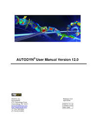 autodyn user manual command line interface trademark