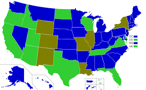 us map states only ages of consent in the united states