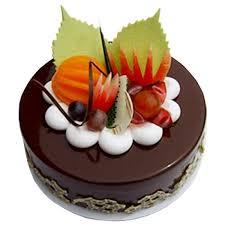 half kg rich chocolate fruit eggless cake cakes