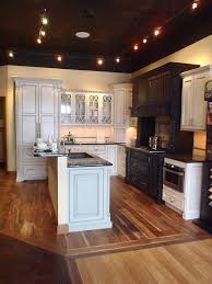 showroom design painted cabinets mungo homes design center