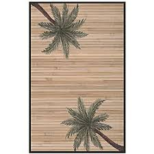 Outdoor Bamboo Rugs Woven Palm Tree Rayon From Bamboo Rug 5 X 8 Free
