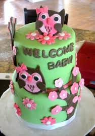 owl baby shower theme owl baby shower cake cakecentral