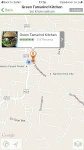 Tripadvisor Map Tim In Phuket Restaurants Coffee Shops Green Tamarind Kitchen