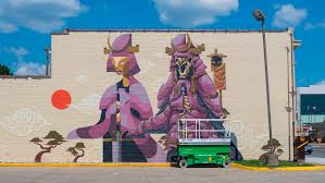 Mural Collaboration by World Gainesville Urban Art