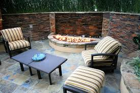 Fire Pit With Water Feature - torrey pines landscape company water features services