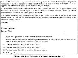 how to write claim letter and request for favours