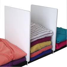 amazon com axis shelf dividers white home u0026 kitchen
