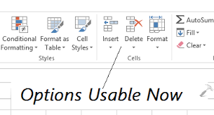 fix can u0027t insert or delete sheet rows and columns in excel 2013