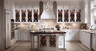 Kitchen With Glass Cabinet Doors Kitchen Glass Cabinets Amicidellamusica Info