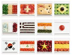 different types of cuisines in the international foods
