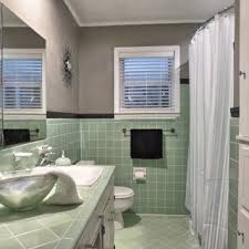 green bathroom tile ideas vintage green tile bathroom when we finally decided to keep it