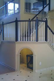Stairwell Ideas Desk Desk Units 18 Repurpose A Crib Into A Dog Crate More Superb