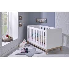 chambre bébé evolutive lit bébé évolutif evidence 70 140 blanc hêtre bébé provence