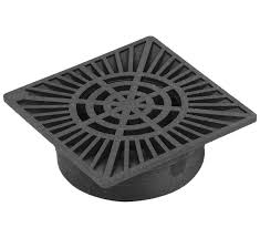 Basement Drain Cover Replacement by Fernco Fsd 094 S A 9 Inch Square Bottom Outlet Drain Grate