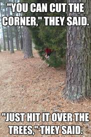Tree Meme - the best golf memes