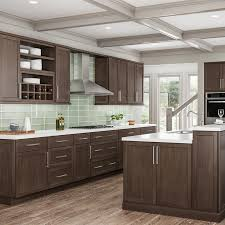 kitchen sink base cabinet and countertop hton bay shaker assembled 36x34 5x24 in sink base
