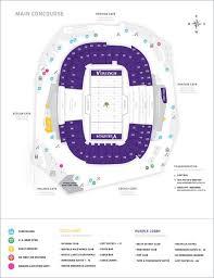 map us bank stadium minnesota vikings u s bank stadium map seating chart stuff