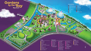 Singapore On Map Plan Your Visit Gardens Map