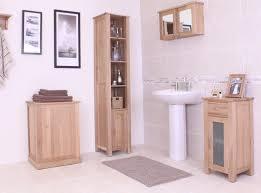 Freestanding Bathroom Furniture Cabinets Bathroom Shelves Oak Bathroom Furniture Standing Storage Shelves