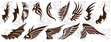wings tattoos designs
