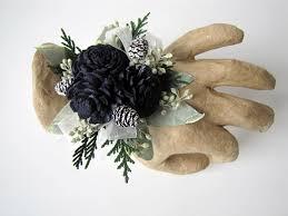 corsage wristlet navy blue corsage miniature sola flower wrist corsage wristlet