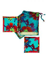 glow wonder fabric reversible coaster gift set pinklay