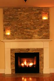 our faux chimney by stepping stone and tile sst added to this