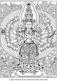 Coloring Pages Buddhist Coloring Pages