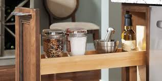 Pull Out Spice Rack Cabinet by Yorktowne Cabinets Stylish Storage