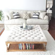 coffee table extra large square ottoman coffee table homediy