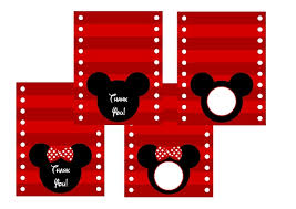 free mickey u0026 minnie mouse birthday party printables